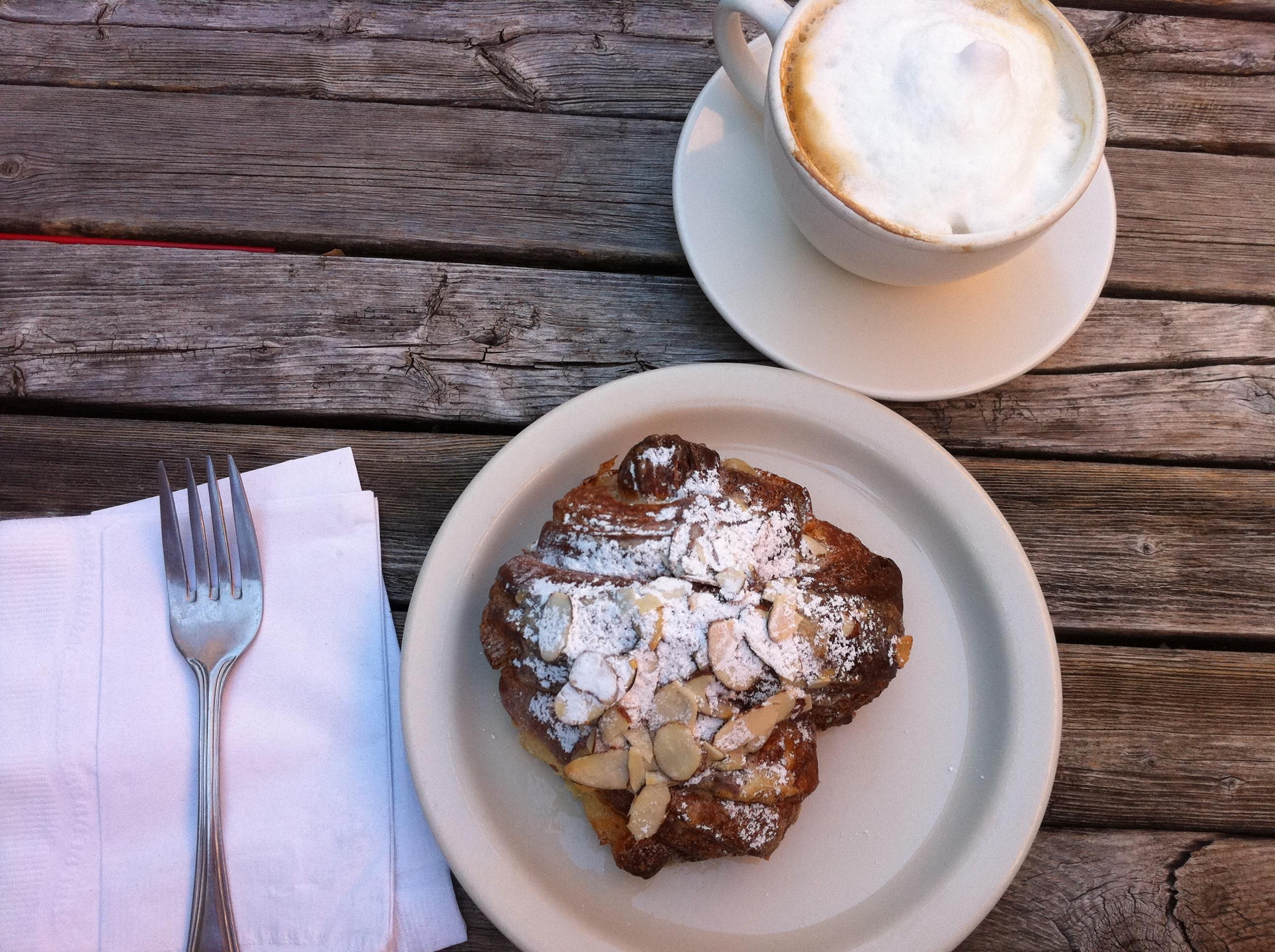 Tulie Bakery Almond Croissant