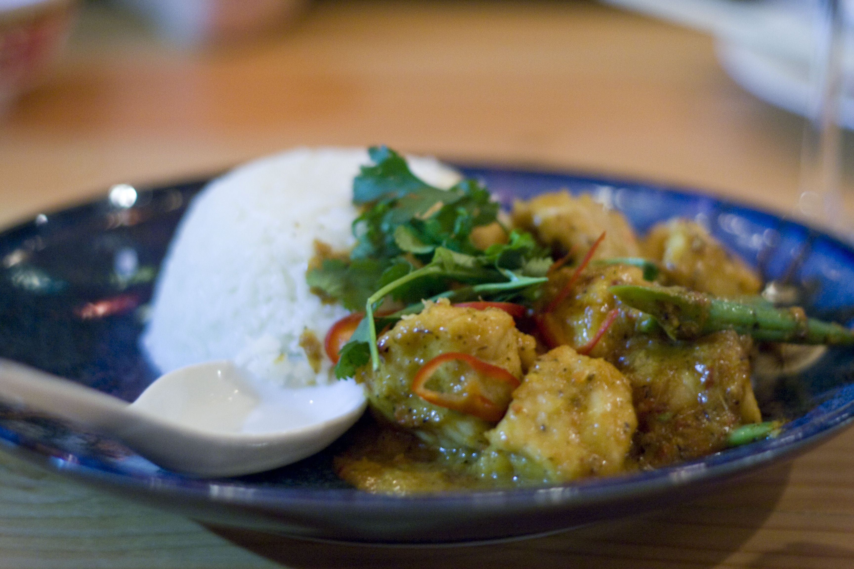 chicken curry at Plum Alley
