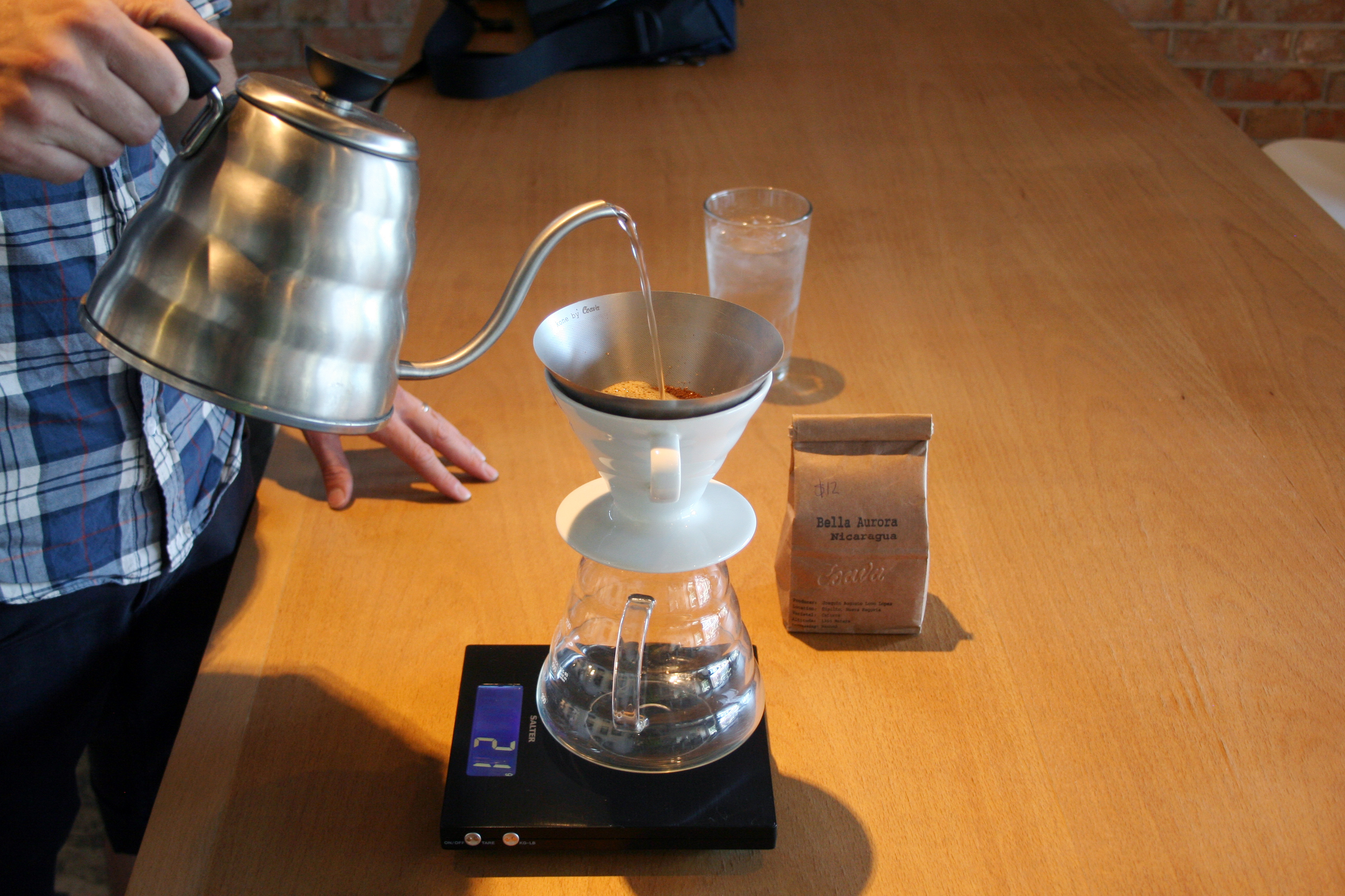 What is a pour over coffee? SLC Foodie