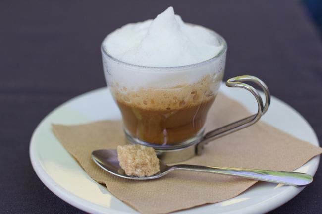 Cappuccino at Faustina