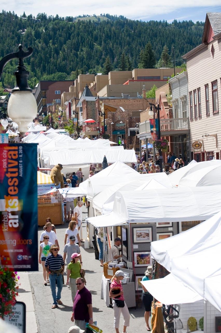 Park City's Kimball Arts Festival