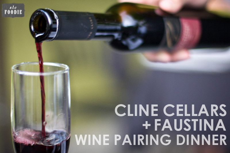 Faustina with Cline Cellars Headers by SLCfoodie