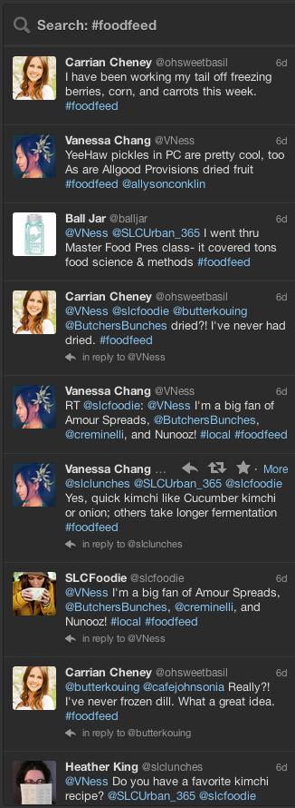 twitter foodfeed on preserving food