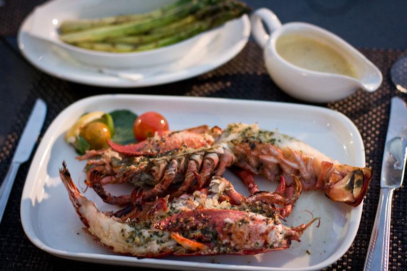 Z Chop Haus Lobster at Zermatt Resort in Midway, Utah