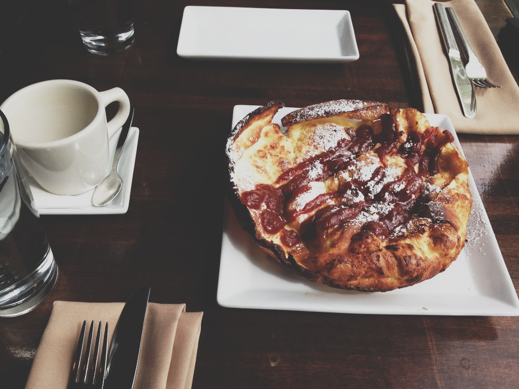 Dutch Baby at Pago in Salt Lake City