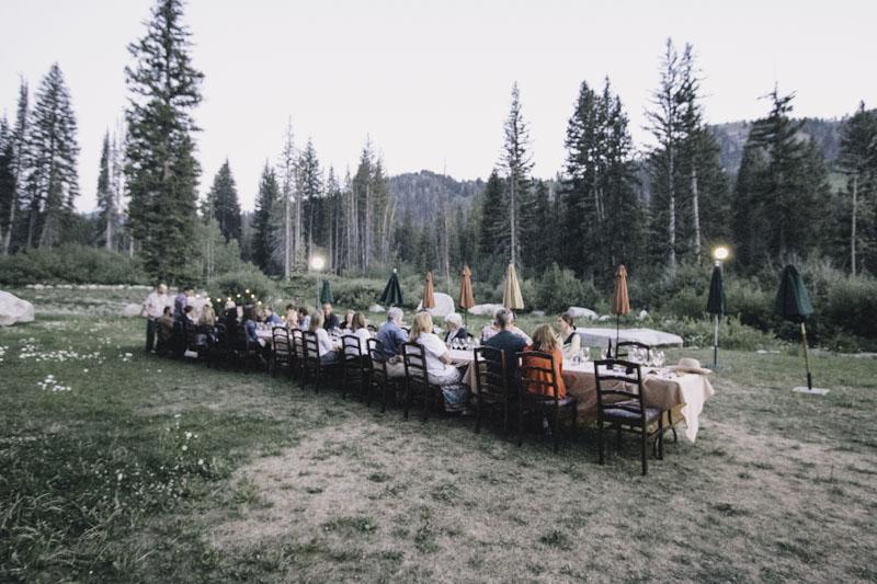Wasatch Mountain Table at Solitude Ski Resort
