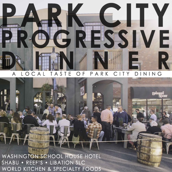 SLC Mixers Park City Progressive Dinner
