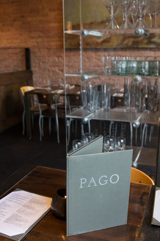 Pago Restaurant in Salt Lake City