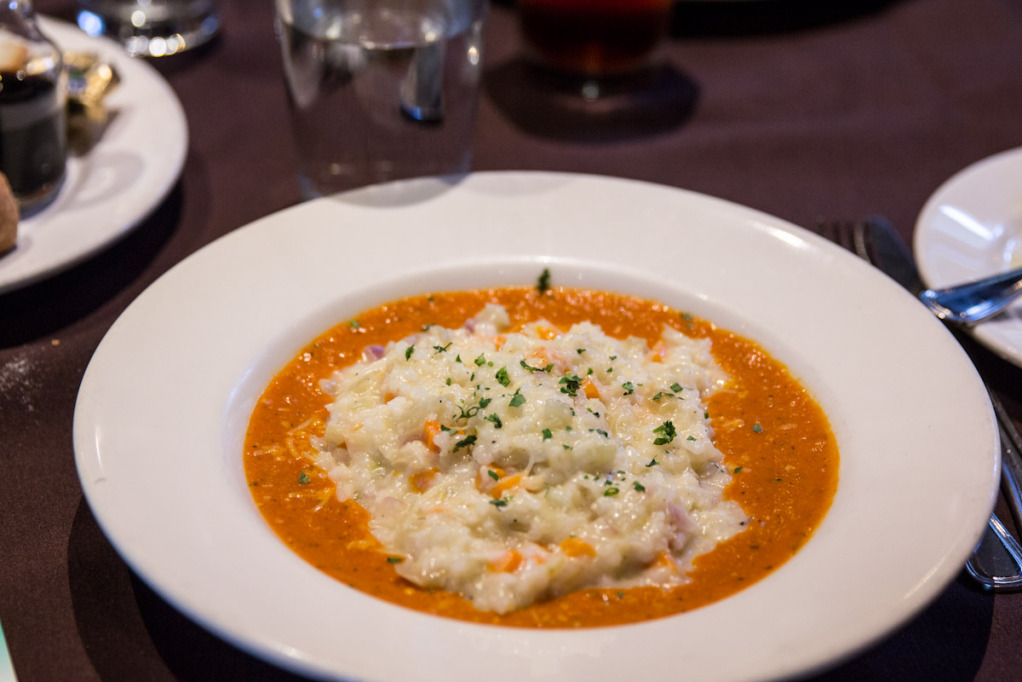 Risotto from Oasis Cafe