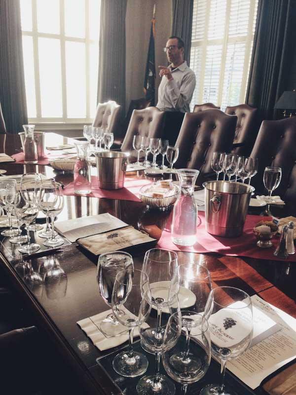 Wine Academy of Utah Executive Wine Series Class
