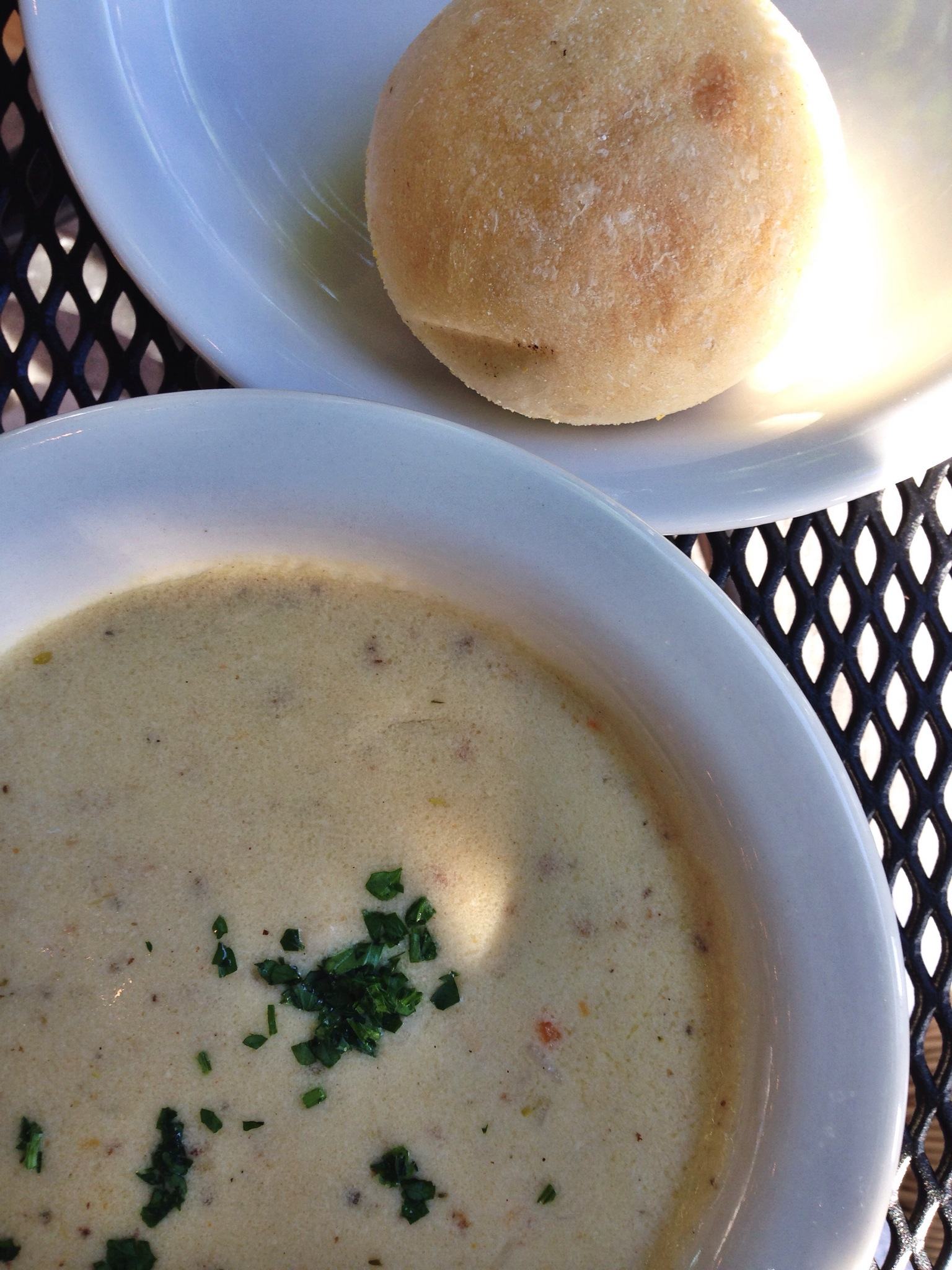 Clam Chowder in Salt Lake City